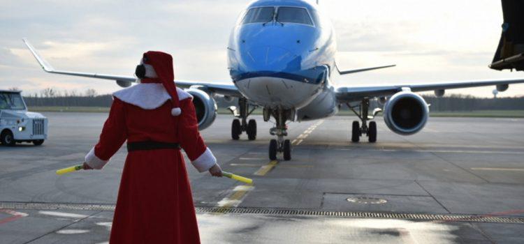Niecodzienny widok na wrocławskim lotnisku
